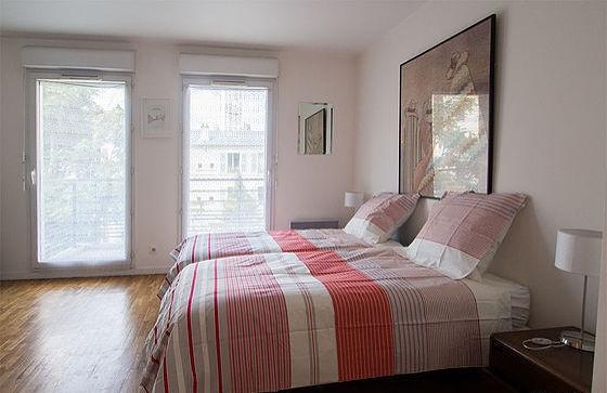 location mobil home val d oise studio meubl avec terrasse et. Black Bedroom Furniture Sets. Home Design Ideas